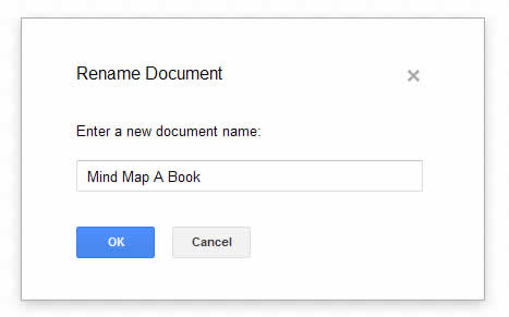 creatinig a new google document