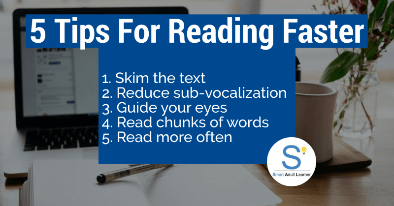 5 ways to increase reading speed
