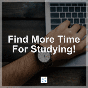 find more time for studying