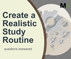 Create a Realistic Study Routine