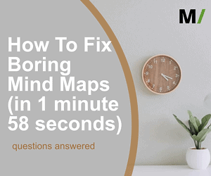 How To Fix Boring Mind Maps in 1 minute 58 seconds