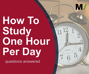 How To Study One Hour Per Day