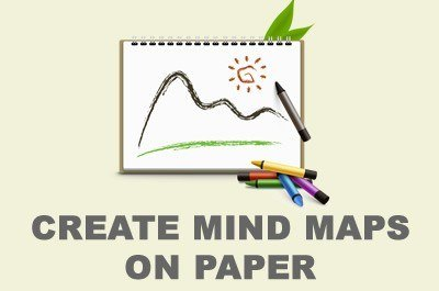How to create a mind map on paper mindmaps unleashed fandeluxe Images