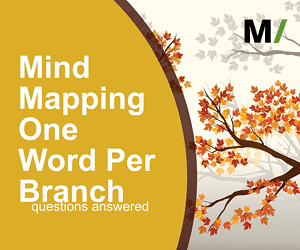 mind mapping one word per branch