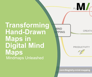 transforming hand-drawn mind maps